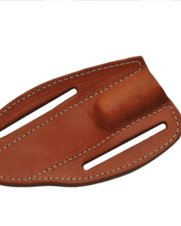 BROWN SADDLE BELT SHEATH