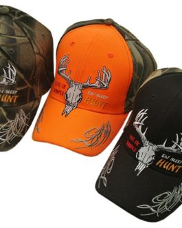 """ EAT, SLEEP, HUNT"" CAP"
