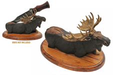 MOOSE KNIFE DISPLAY STAND