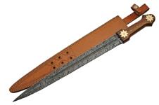 25″ FIRESTORM DAMASCUS SWORD