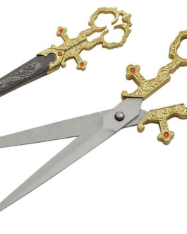 10.25″ GOLD RENAISSANCE SCISSORS