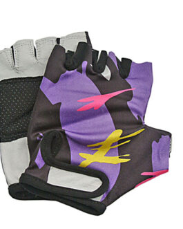 FLASH LYCRA FITNESS GLOVES-SIZE: LARGE