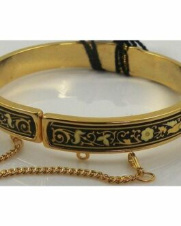 Damascene Gold Bird Bracelet by Midas of Toledo Spain style 805004