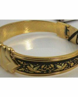 Damascene Gold Bird Bracelet by Midas of Toledo Spain style 2077