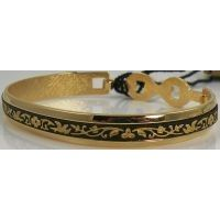 Damascene Gold Bird Bracelet by Midas of Toledo Spain style 2079