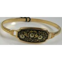 Damascene Gold Bird Bracelet by Midas of Toledo Spain style 2080
