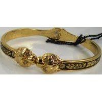 Damascene Gold Bird Bracelet by Midas of Toledo Spain style 805013