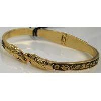 Damascene Gold Bird Bracelet by Midas of Toledo Spain style 805015
