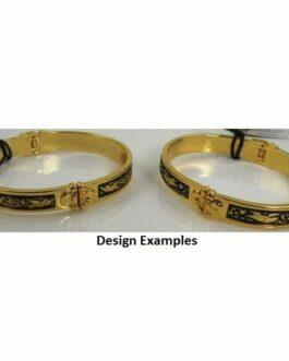 Damascene Gold Bird Bracelet by Midas of Toledo Spain style 805020