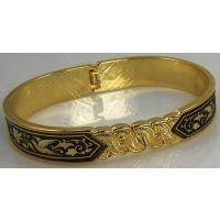 Damascene Gold Bird Bracelet by Midas of Toledo Spain style 805023