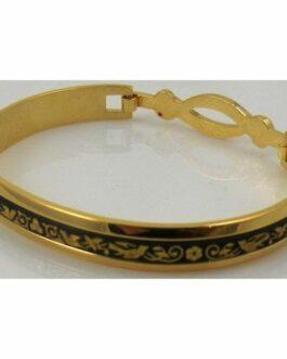 Damascene Gold Bird Bracelet by Midas of Toledo Spain style 805024
