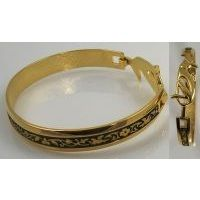 Damascene Gold Bird Bracelet by Midas of Toledo Spain style 2093