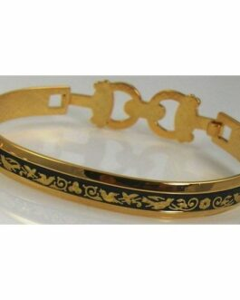 Damascene Gold Bird Bracelet by Midas of Toledo Spain style 2094