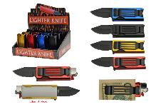 12 PIECE LIGHTER KNIFE DISPLAY