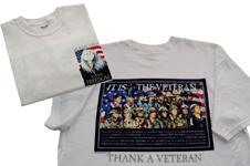 MEDIUM SIZE GALLO VETERAN T-SHIRT WHITE