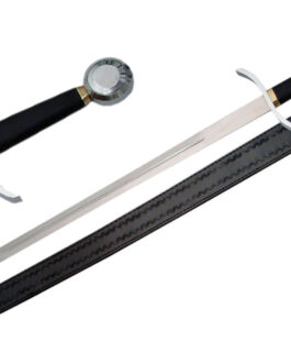 41.25″ SILVER KNIGHT SWORD