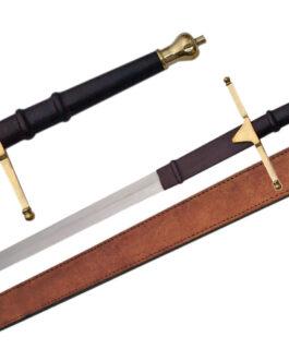 40″ BRASS WALLACE SWORD