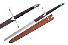 40″ SILVER WALLACE SWORD