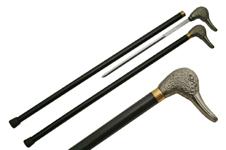 34″ DUCK SWORD CANE