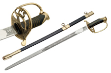42″ SHELBY OFFICER SWORD