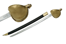 35.5″ NAVAL CUTLASS SWORD