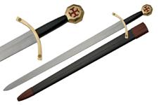 41″ KNIGHT OF TEMPLAR SWORD