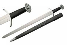 39″ BLACK VIKING LOBED SWORD