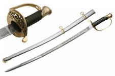 41″ CIVIL WAR ARMY STAFF OFFICER SWORD