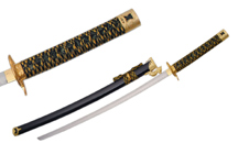 40″ BLACK DRAGON GUARD SWORD