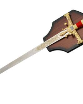 47.5″ GOLDEN SOLOMON SWORD