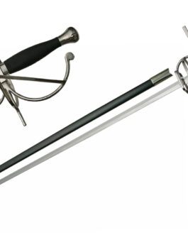 43.5″ RAPIER WITH SCABBARD