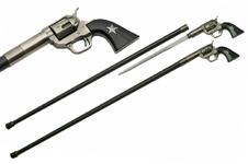 37.5″ GUN WALKING CANE