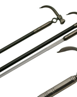 34.5″  HAMMER STYLE SWORD CANE