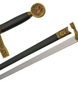 33″ GOLD EXCALIBUR SWORD