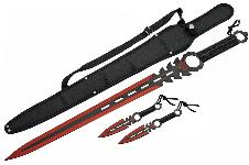 26″ MONSTER SWORD  (RED)