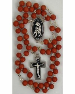 Damascene Silver Jesus Rosary Beads by Midas of Toledo Spain style 9604