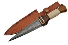 12.5″ DAMASCUS STEEL BLADE SCOTTISH DIRK