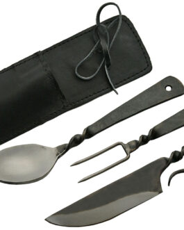 MEDIEVAL UTENSIL SET WITH SHEATH