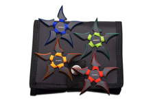 4 PIECE 5 POINT THROWING STARS