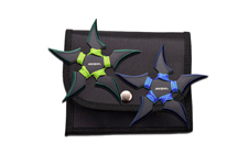 2 PIECE 5 POINT THROWING STARS