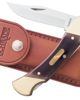 SCHRADE 5″ CAVE BEAR LOCKBACK