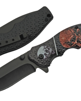 4.5″ SKULL SCREAMER FOLDER – SPRING ASSIST